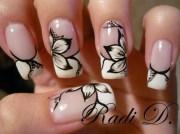 gel nails - nail art step-step