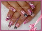happy birthday - nail art