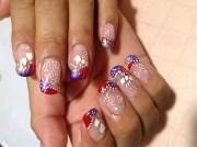 hand painted - nail art