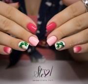 tropical nails - nail art