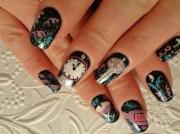 happy years 2013 - nail art