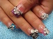 playful chanel - nail art