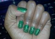 crocodile nails - nail art
