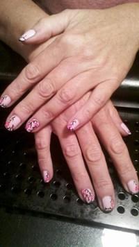 Elegant Cherry Blossoms - Nail Art Gallery
