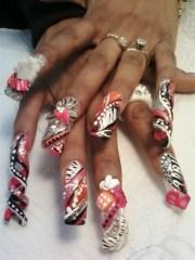 nicki minaj nails - nail art