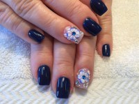Nails Design 3d Flower