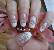 """nail art """"wedding manicure"""""""
