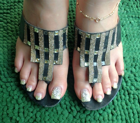 Bridal Toes
