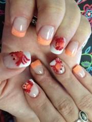 crab - nail art