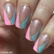 simple elegant nails - nail art