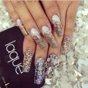 extreme bling - nail art