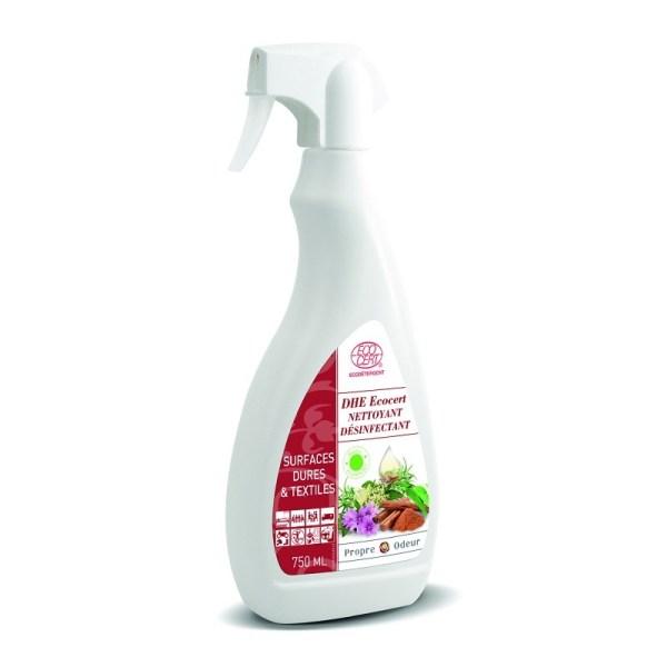 Désinfectant Virucide en spray DHE400 100% naturel huiles essentielles 750 ml