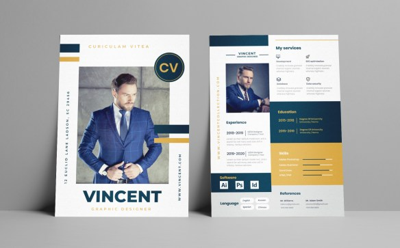 Modern and Smart Resume Template