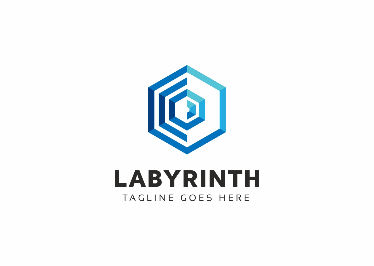 Labyrinth Logo Template #70543