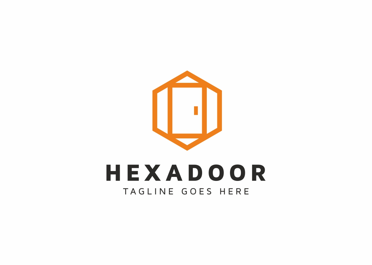 Hexadoor Logo Template #70852