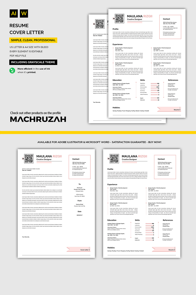Easy Resume Template Simple Easy Resume Template 71017