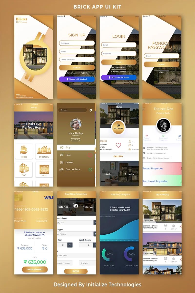 mobile app templates
