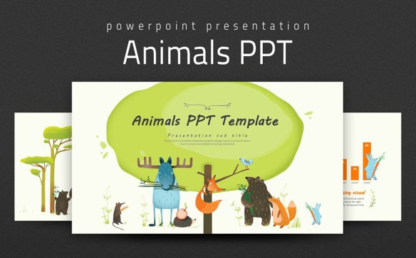 Animals PPT PowerPoint Template