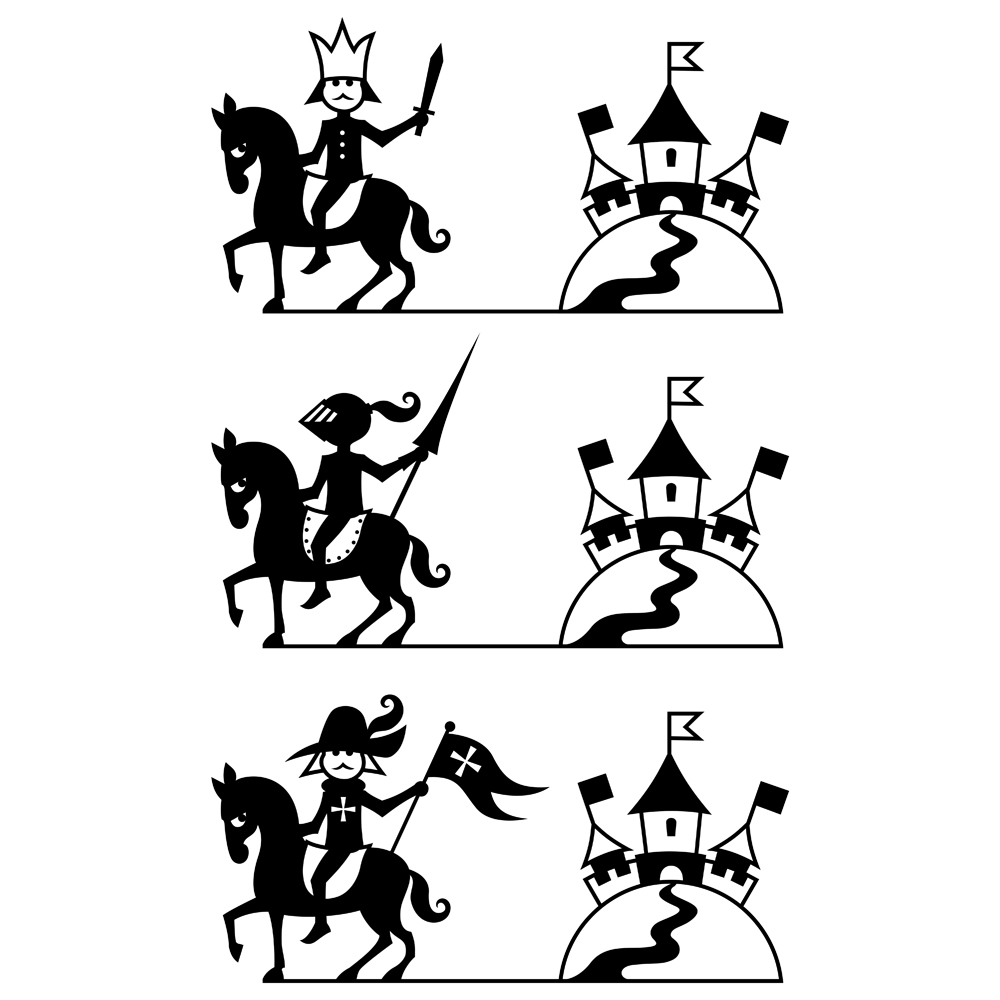 Riders Illustration