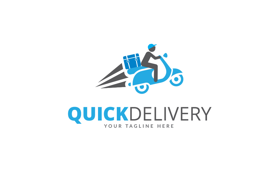 Quick Delivery Logo Logo Template #69204
