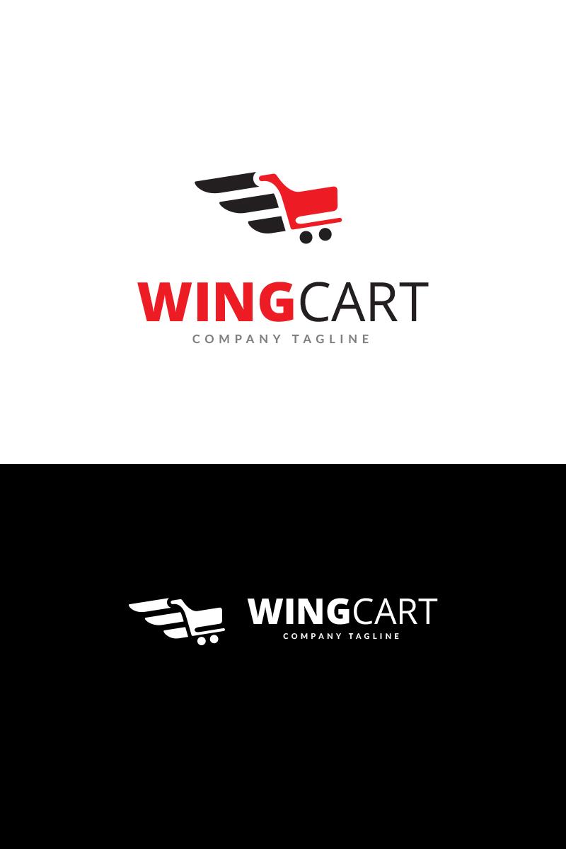 wing cart logo template