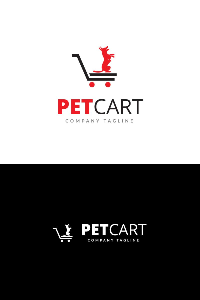 pet cart logo template
