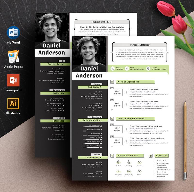 Creative resume/cv template resume photosho modern resume resume resume mac pages resume. Creative Modern Editable Word Apple Pages Cv Resume Template