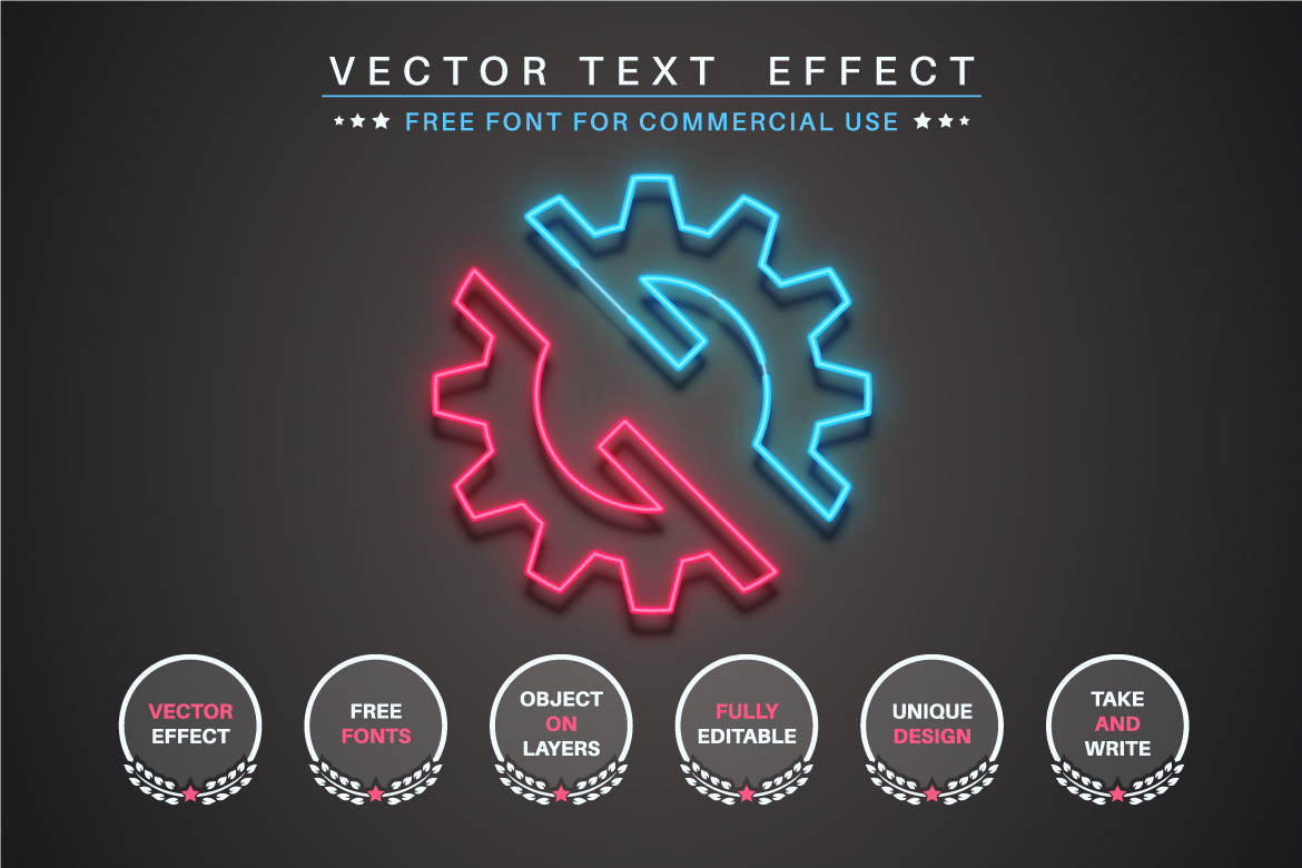 Night Club - Editable Text Effect, Font Style, Graphics Illustration