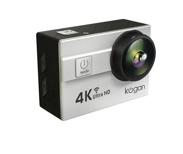 Kogan Action Camera 4K UltraHD 16MP Putih WIFI ORIGINAL SONY LENS TO