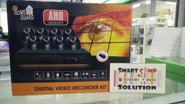 Paket CCTV Silicon DVR 8CH + 8 Camera 1.3Mpx