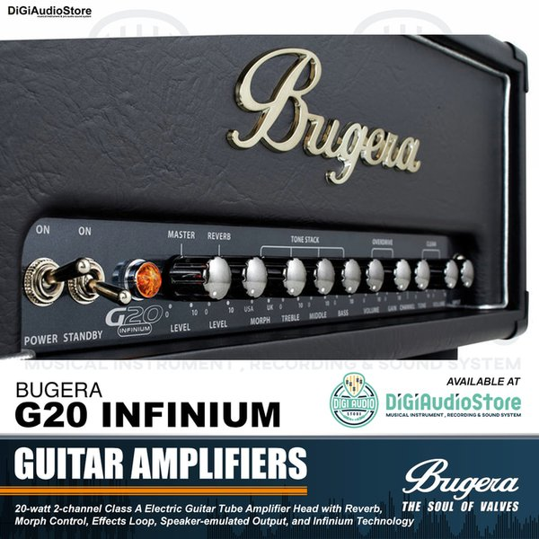 HN AMPLI GITAR BUGERA G20 INFINIUM 20 WATT GUITAR TUBE HEAD AMPLIFIER