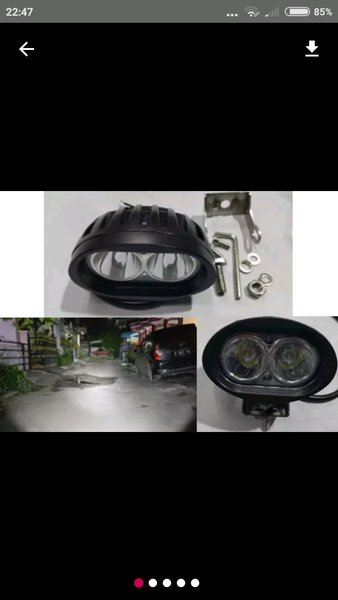 LAMPU TEMBAK SOROT WORKLIGHT OFFROAD LED CREE OWL 20 WATT