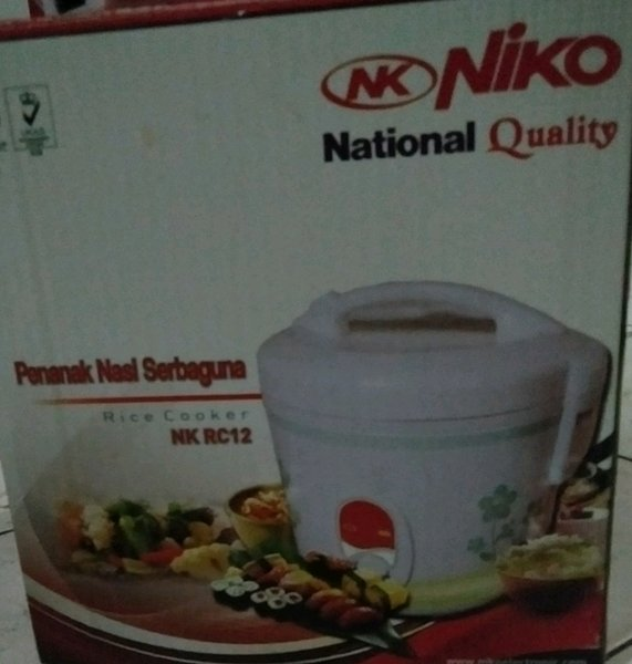 Rice Cooker. NK NIKO NAtional QualityNK RC12 NK18N