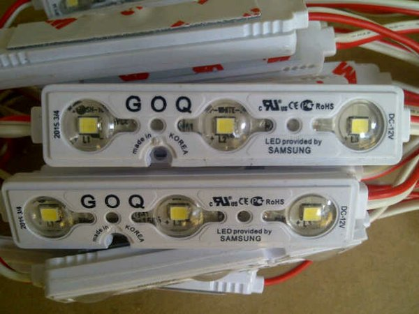 Lampu led module neon box