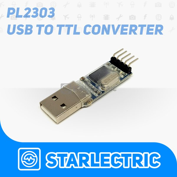 PL2303 USB to TTL - Serial Converter