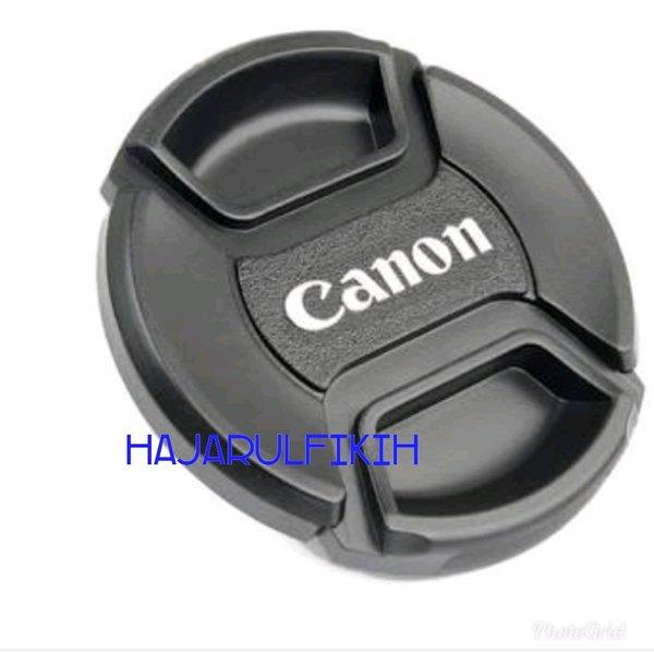 tutup lensa Canon 18-135mm
