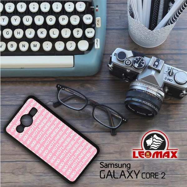 Casing Cover HP Samsung Galaxy Core 2 Hotline Bling E0509