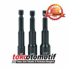 Alat Baut Roofing Jual Magnetic Hex Nut 8mm Top Quality Lepas Pasang