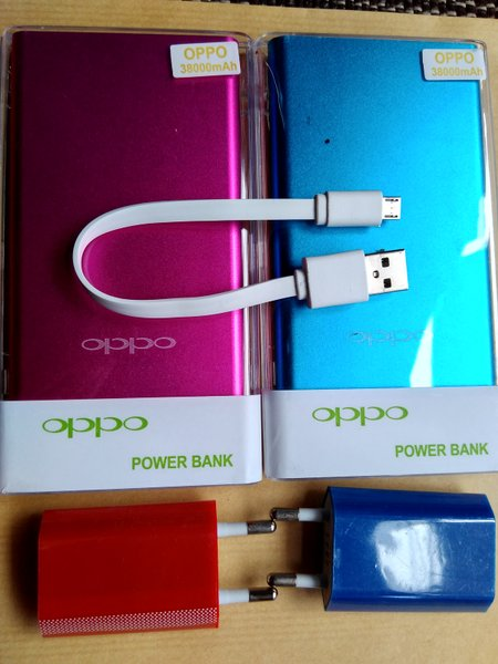 Sale..!! Power Bank Oppo 38.000mAh Slim/bukan Samsung 28000mAh