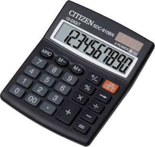 Good Quality Good Qualityginal Citizen Calculator Sdc-810Bn - Kalkulator Meja Kantor Office