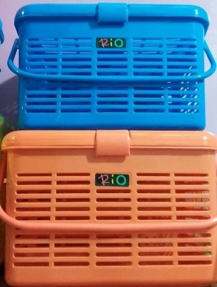 Promo Kandang Kucing Keranjang Rio Pet Carrier Cargo Large Besar Maspion Murah