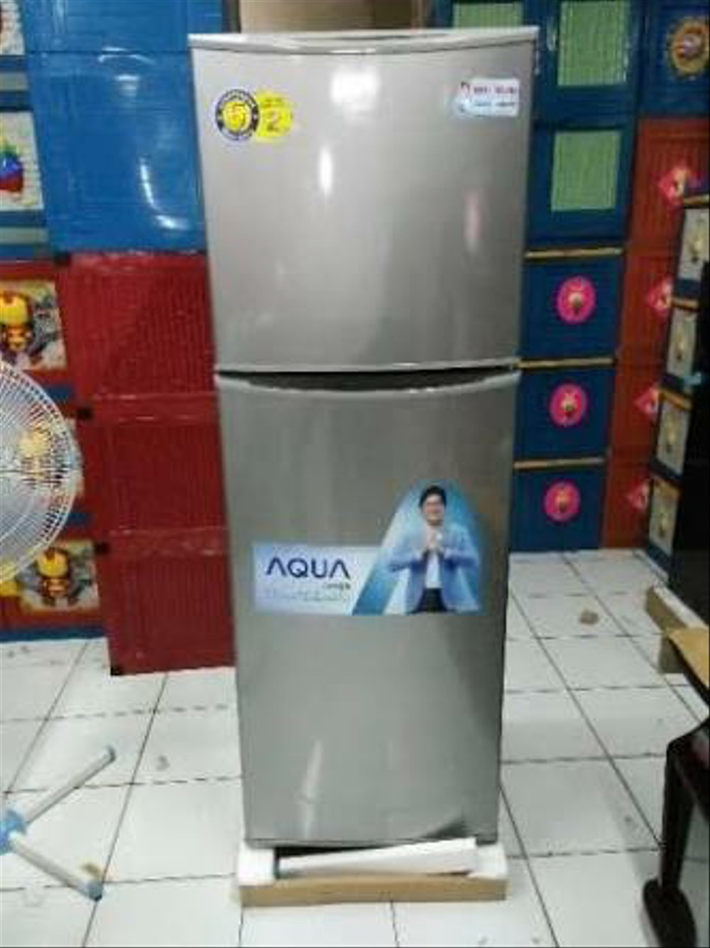 hight resolution of jual kulkas 2 pintu aqua japan type aqr d260 no frost