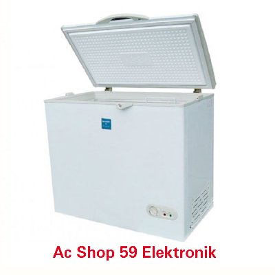 CHEST FREEZER SHARP FRV-200 KABINET PEMBEKU HENDLE LOCK KUNCI NEW