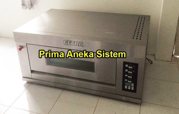 GAS PIZZA OVEN GETRA RFL-12PSS