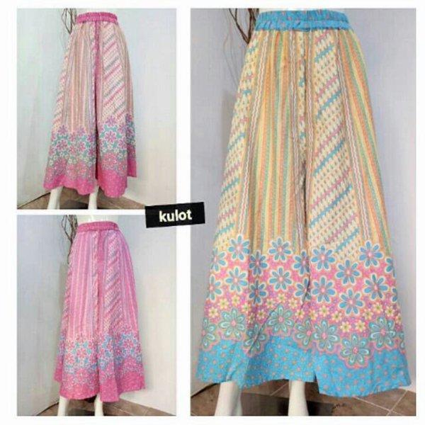 rok celana kulot ( rok celana cutbray | rok kulot | celana kulot | celana panjang ) soft color DY02