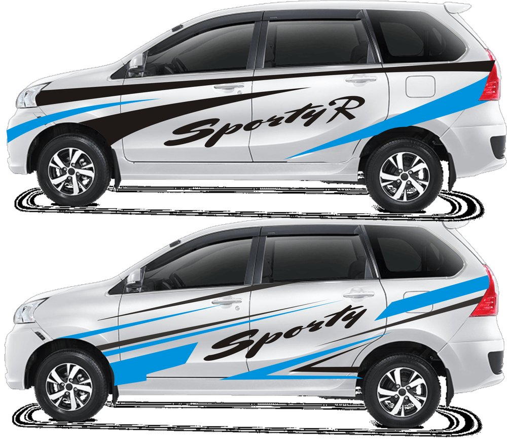 cutting sticker grand new avanza oli matic top modifikasi stiker mobil xenia warna hitam terbaru ...