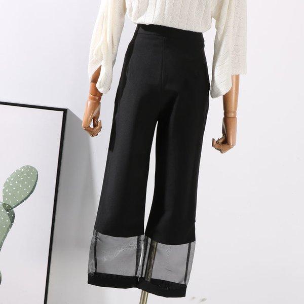 Celana Kulot Pants Jogger Pants Celana Bahan trousers fashion wanita
