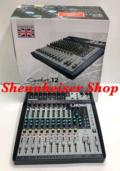 Mixer Audio Soundcraft Signature 12 Mixing Profesional