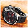 Jam Tangan  Swiss Army 24070ssbcrk Dial Red Ring Silver