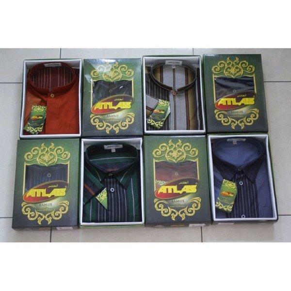Hot Sale Baju Koko Atlas Bamus Universal Warna Murah